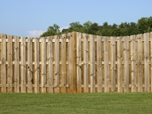 Caring for a wood fence
