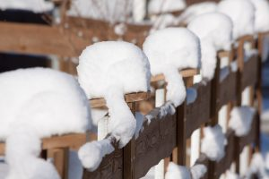 Find out why winter is actually a great time to install your new fence!