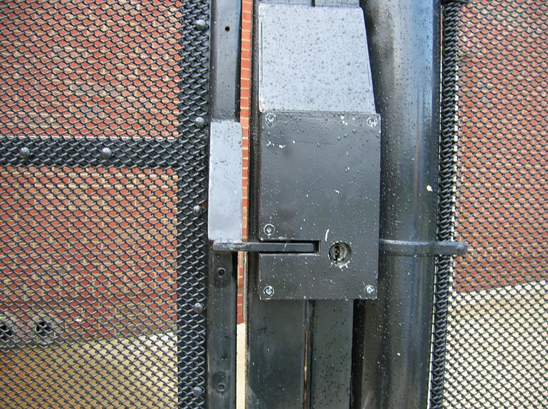 High Security Mini Mesh Locking Mechanism Hercules Fence