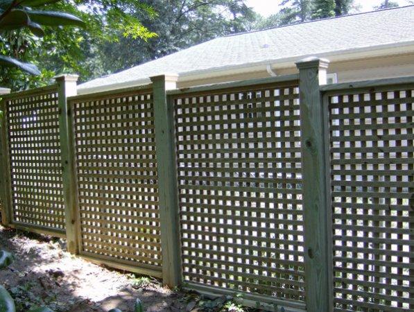 Custom Wood Fences Virginia Amp Maryland Hercules Fence