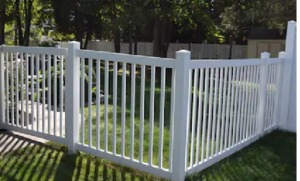 Making Sure Your Vinyl Fence is Cleaned Properly